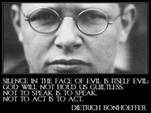 bonhoeffer-silence-is-evil