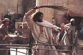 Image result for jesus angry